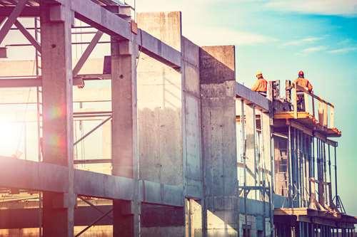 Construction site. Photo.